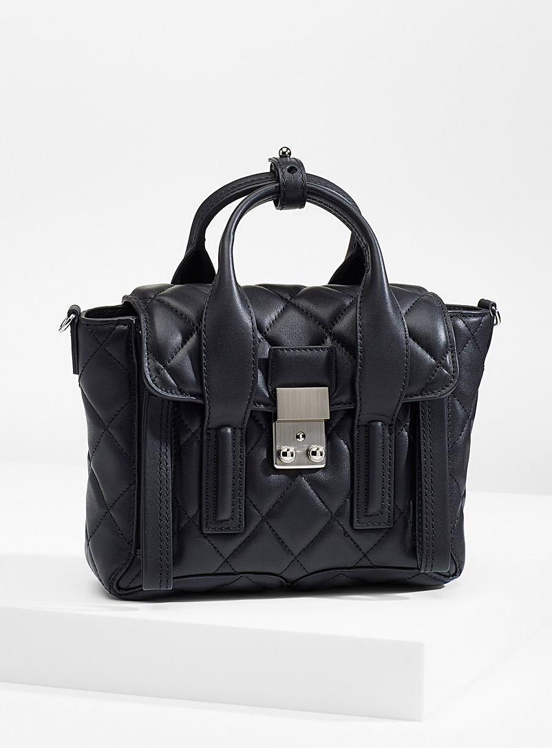 3.1 Phillip Lim Black Mini Pashli bag for women