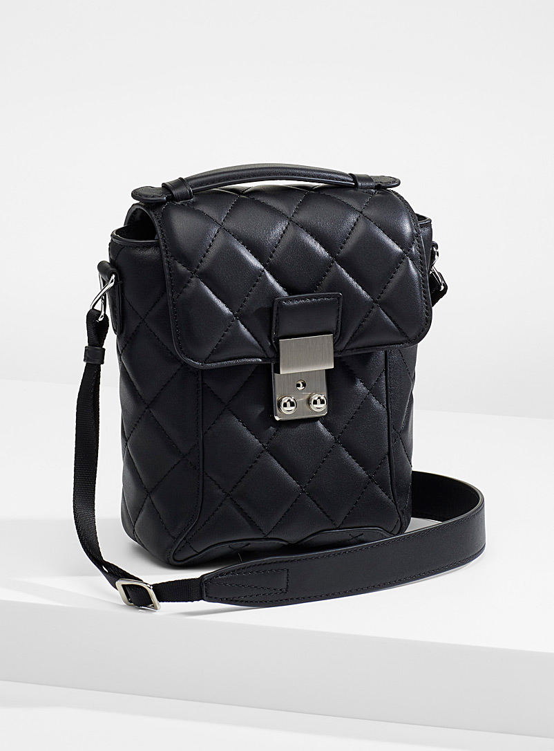 3.1 Phillip Lim Black Pashli camera bag for women