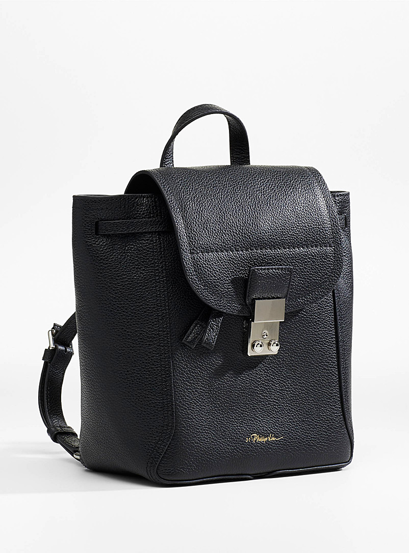 3.1 Phillip Lim Black Pashli backpack for women