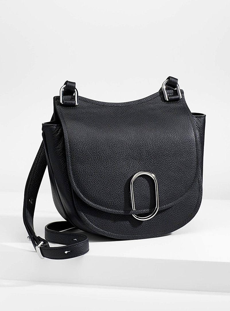 3.1 Phillip Lim Black Alix Hunter shoulder bag for women