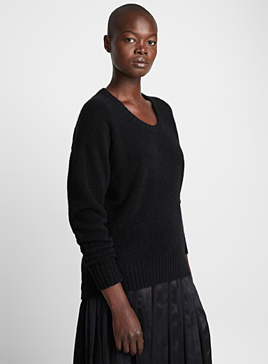 Open Neck sweater