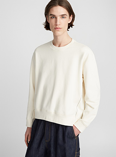 Re-constructed sweatshirt