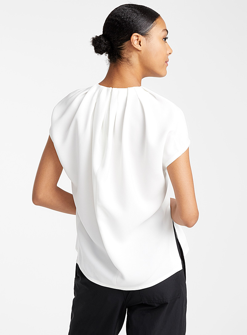 Oversized crepe blouse - 3.1 Phillip Lim - Ivory White