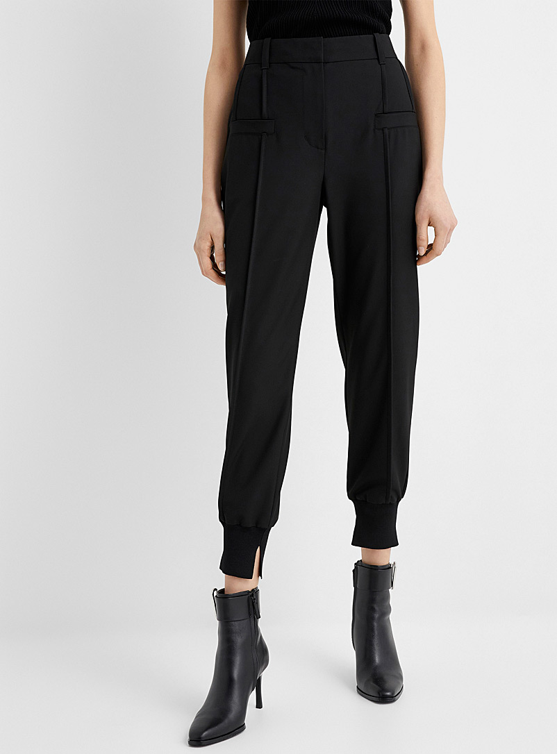 3.1 Phillip Lim Black Urban joggers for women
