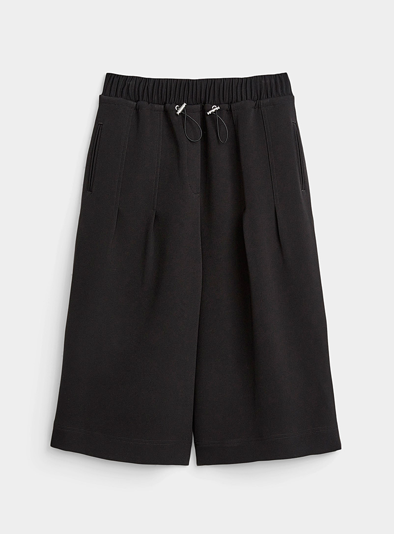 3.1 Phillip Lim Black Twill culottes for women