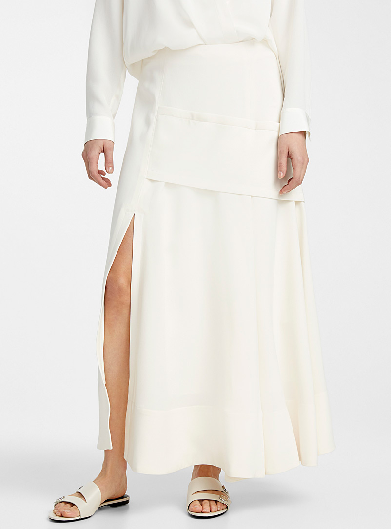 3.1 Phillip Lim Ivory White A-line skirt for women