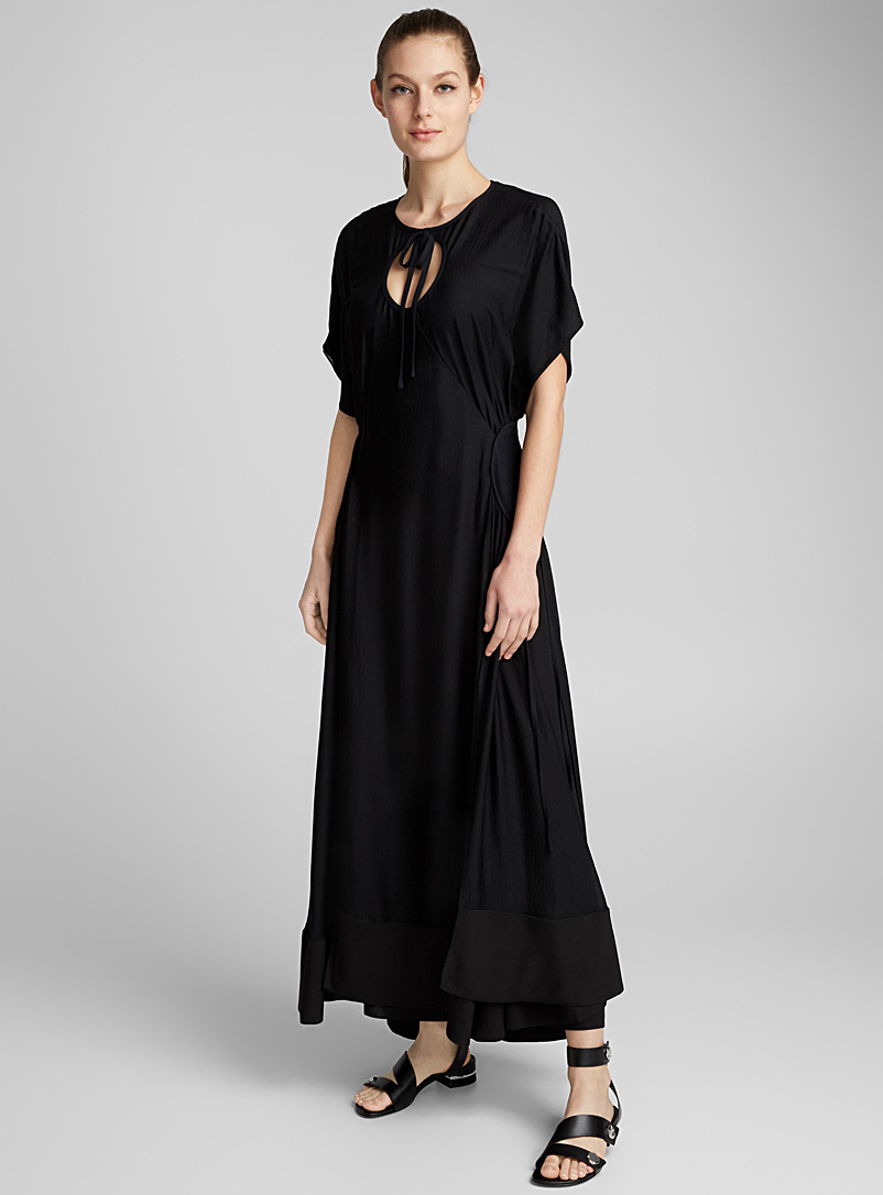 Ring Cutout dress - 3.1 Phillip Lim - Black