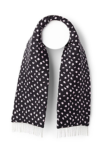 Floral Chain scarf