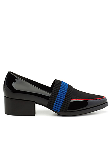 Quinn tricolour loafers