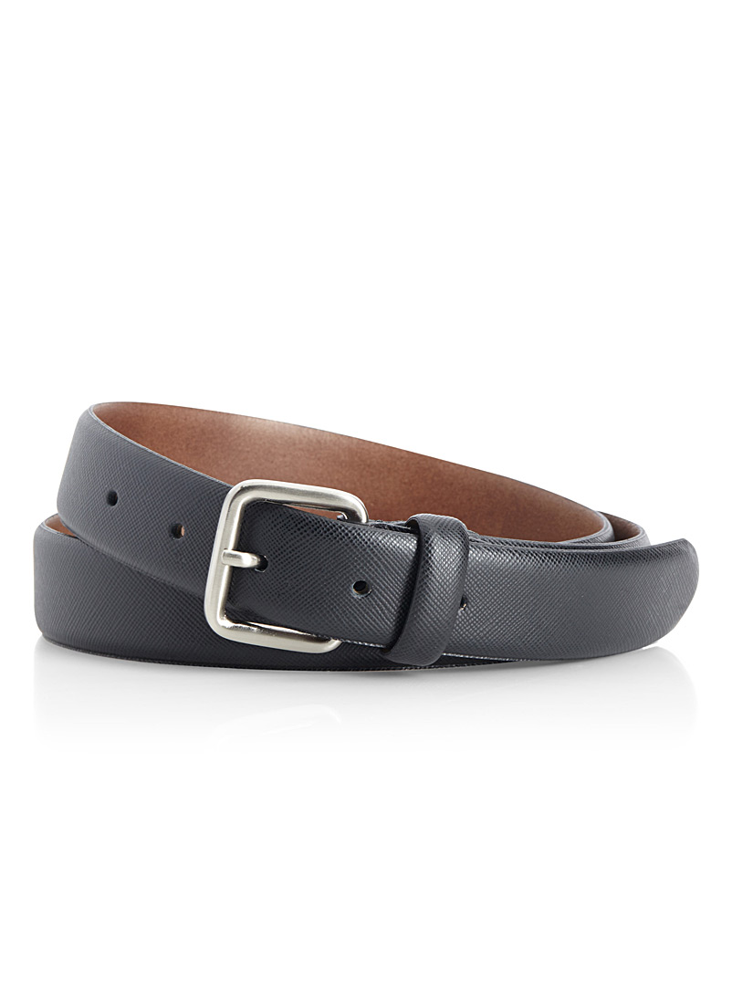 saffiano-leather-belt
