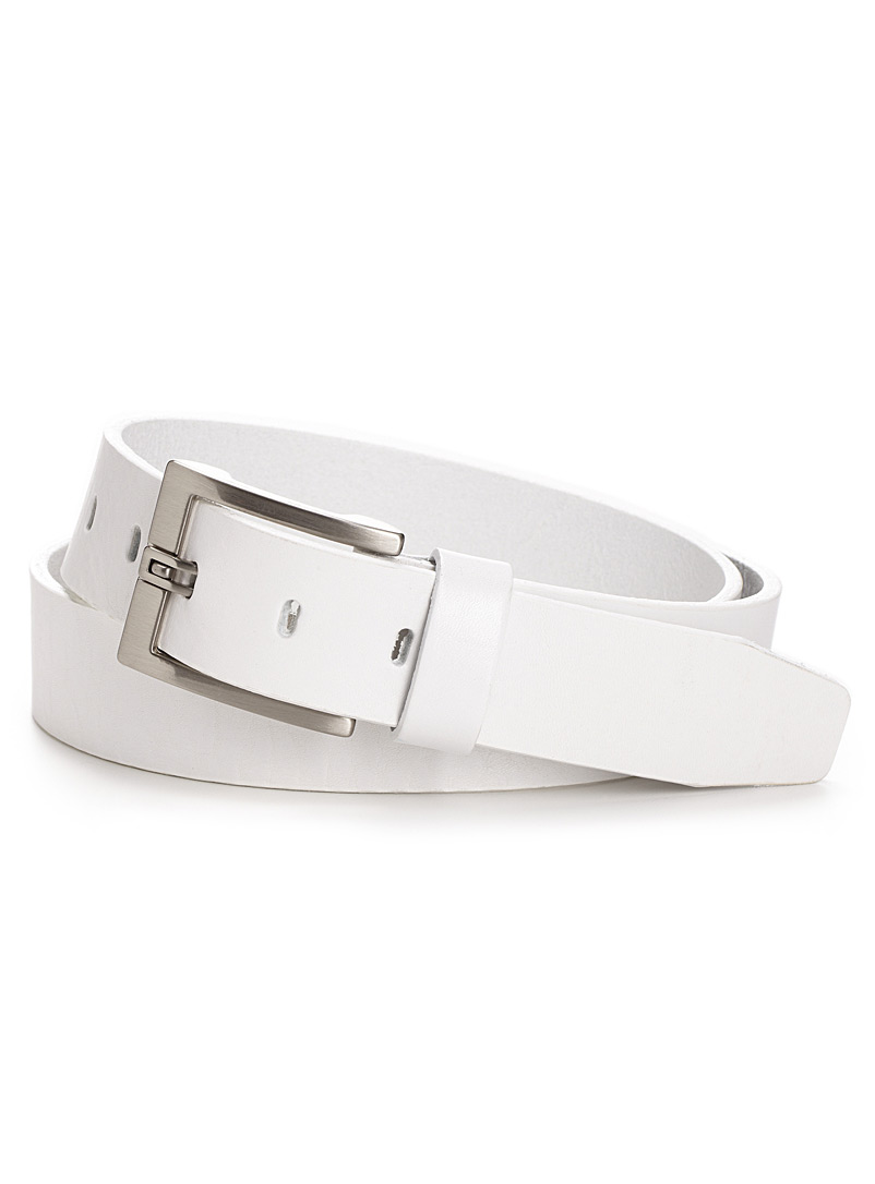 Textured belt - Belts & Suspenders - White