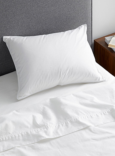Simons Maison White Natural Bia pillow  Adjustable support