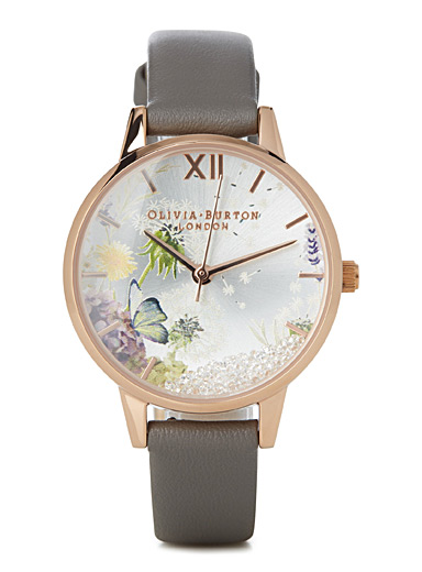 Floral wishing watch