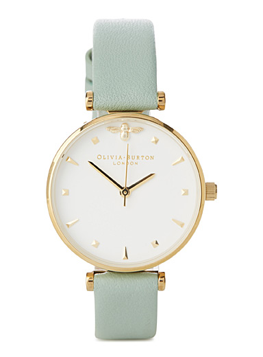 Queen Bee Mint watch