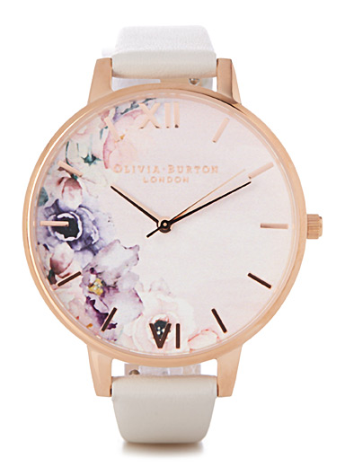 La montre Watercolour Blush