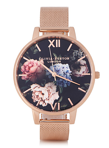 Dark Bouquet watch