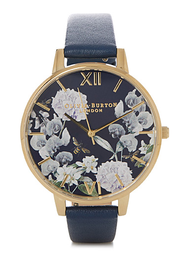 Bee blooms watch