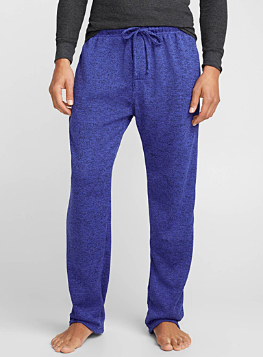 Heather knit lounge pant
