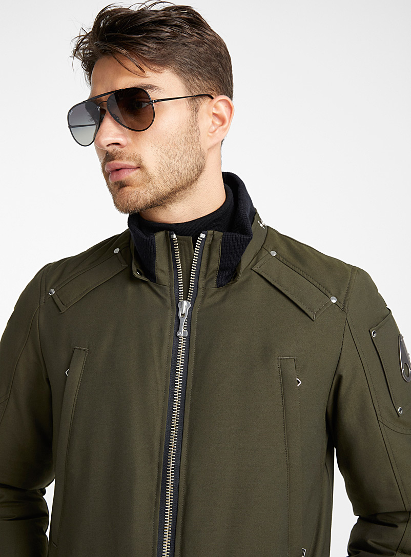 Moose Knuckles Khaki Millstream parka for men