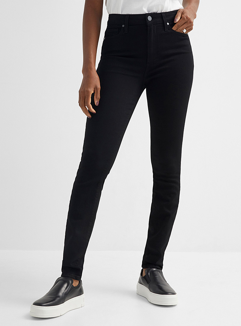 Paige Black Margot black skinny jean for women