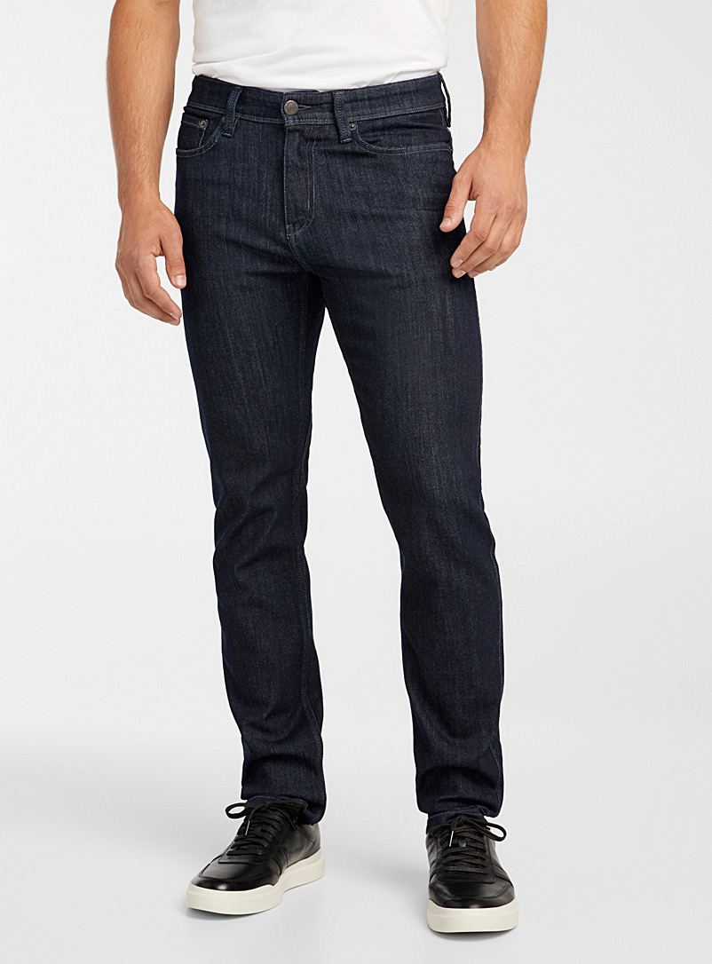 DUER Dark Blue Antibacterial indigo denim jean  Slim fit for men