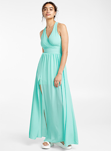Light voile maxi dress
