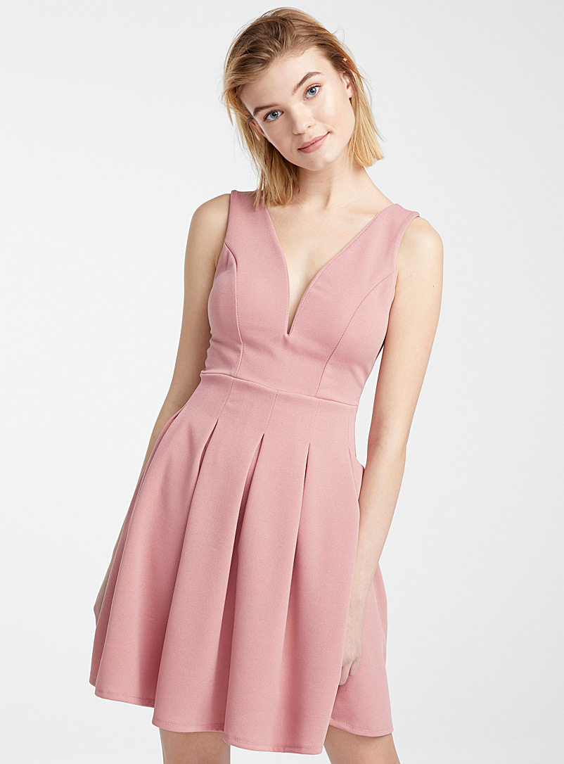 accent-pleated-dress