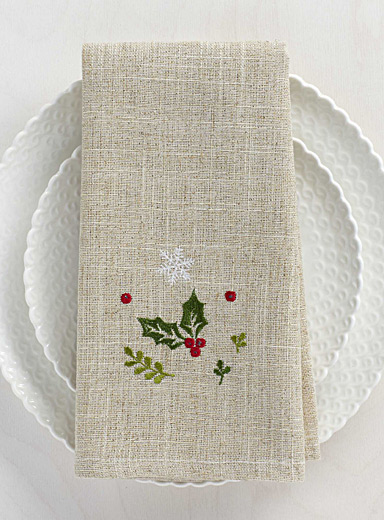 Forest celebration napkin