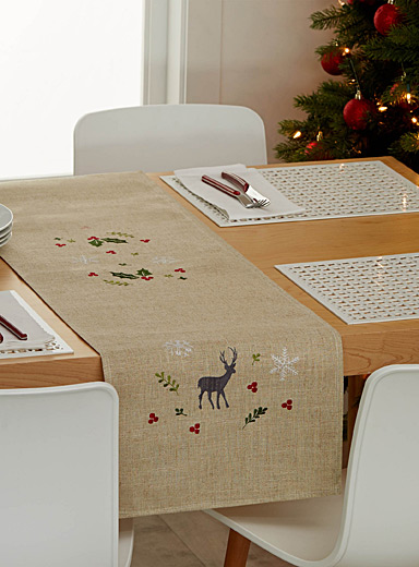 Forest celebration table runner <br>35 x 230 cm