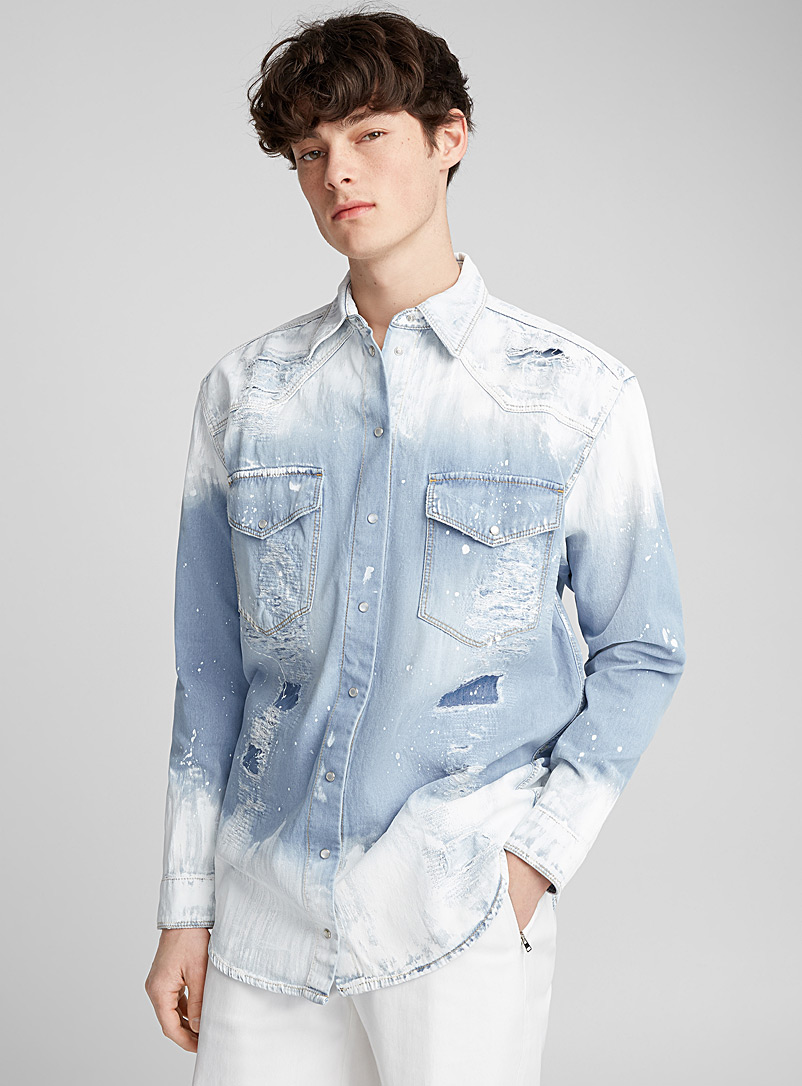 painted-denim-shirt