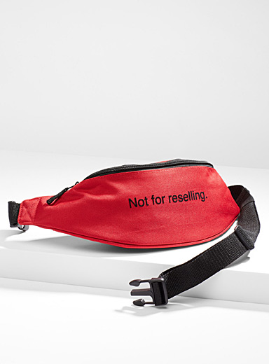 Message belt bag