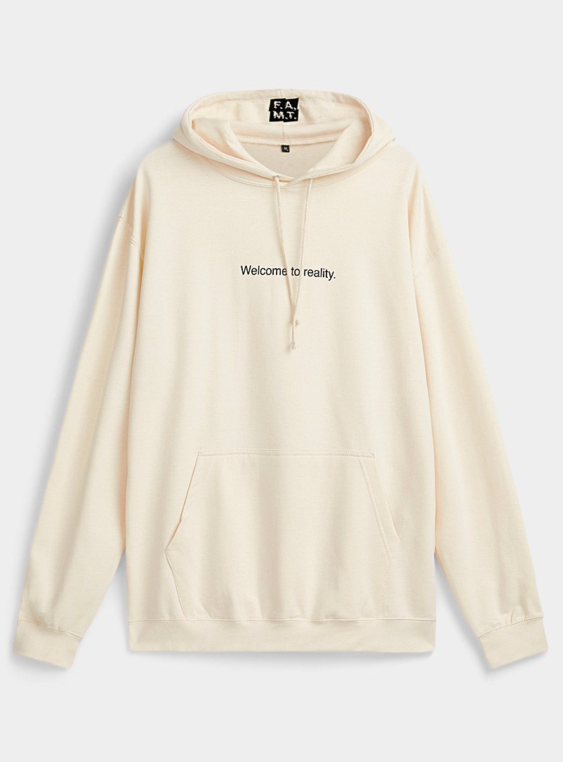 F.A.M.T. lettering hoodie