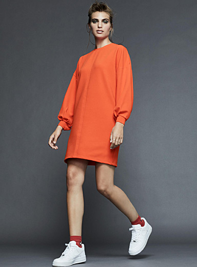 Oversized ottoman dress