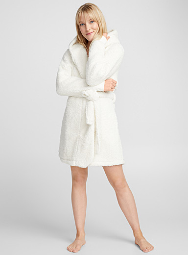 Cozy plush robe