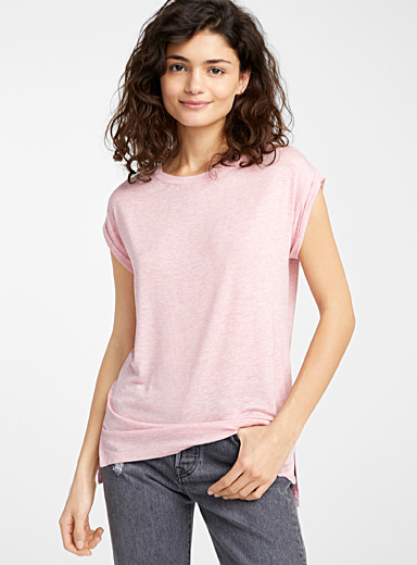 Le long t-shirt mancherons
