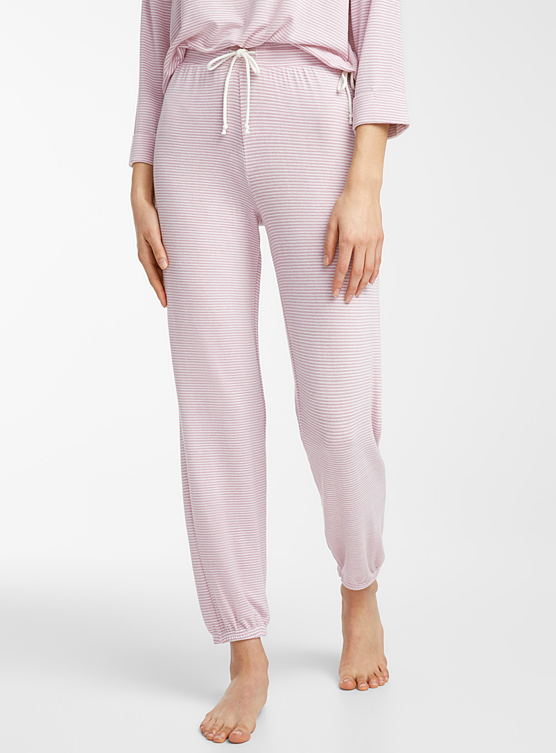 Peaceful morning pant - Sleepwear & Leisurewear - Patterned Ecru