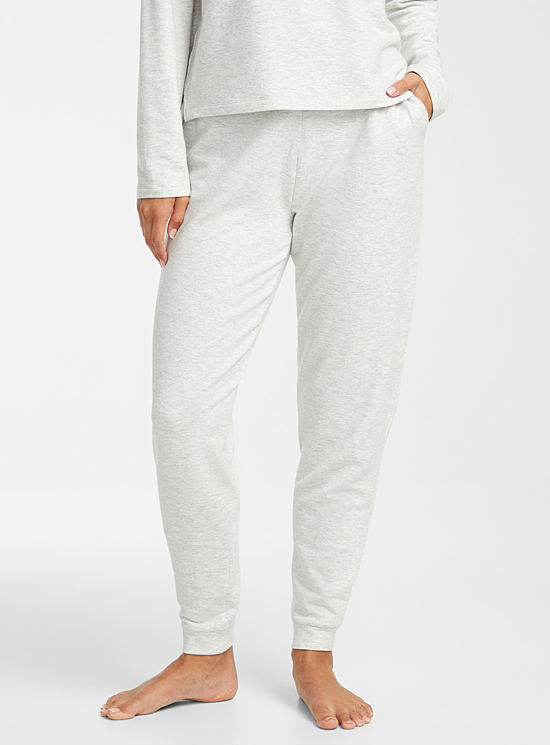 Miiyu Grey Supremely soft modal joggers for women