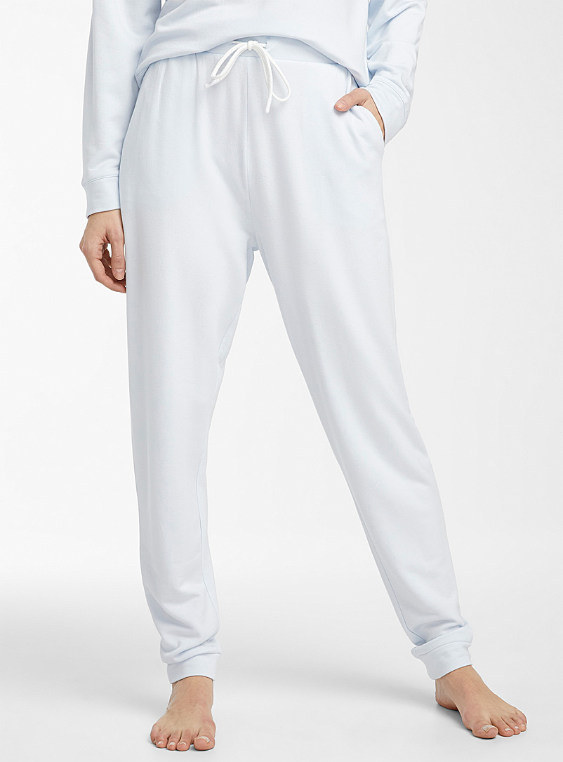 Miiyu Baby Blue Supremely soft modal joggers for women