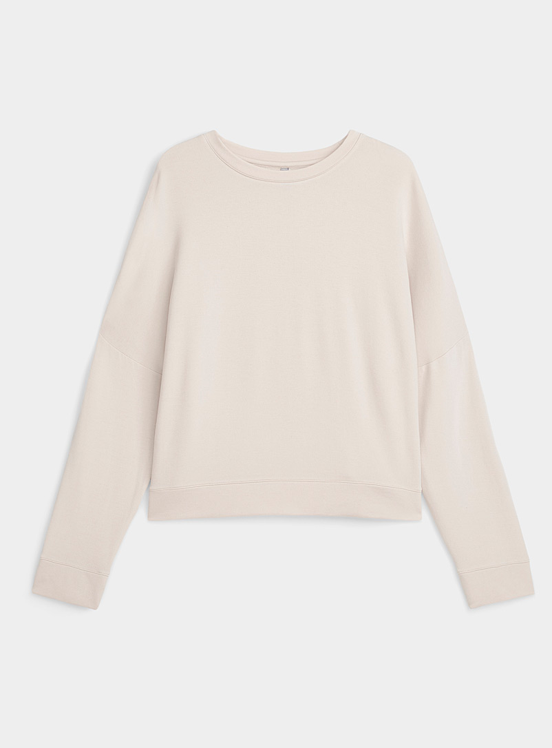 Miiyu Tan Supremely soft modal sweater for women