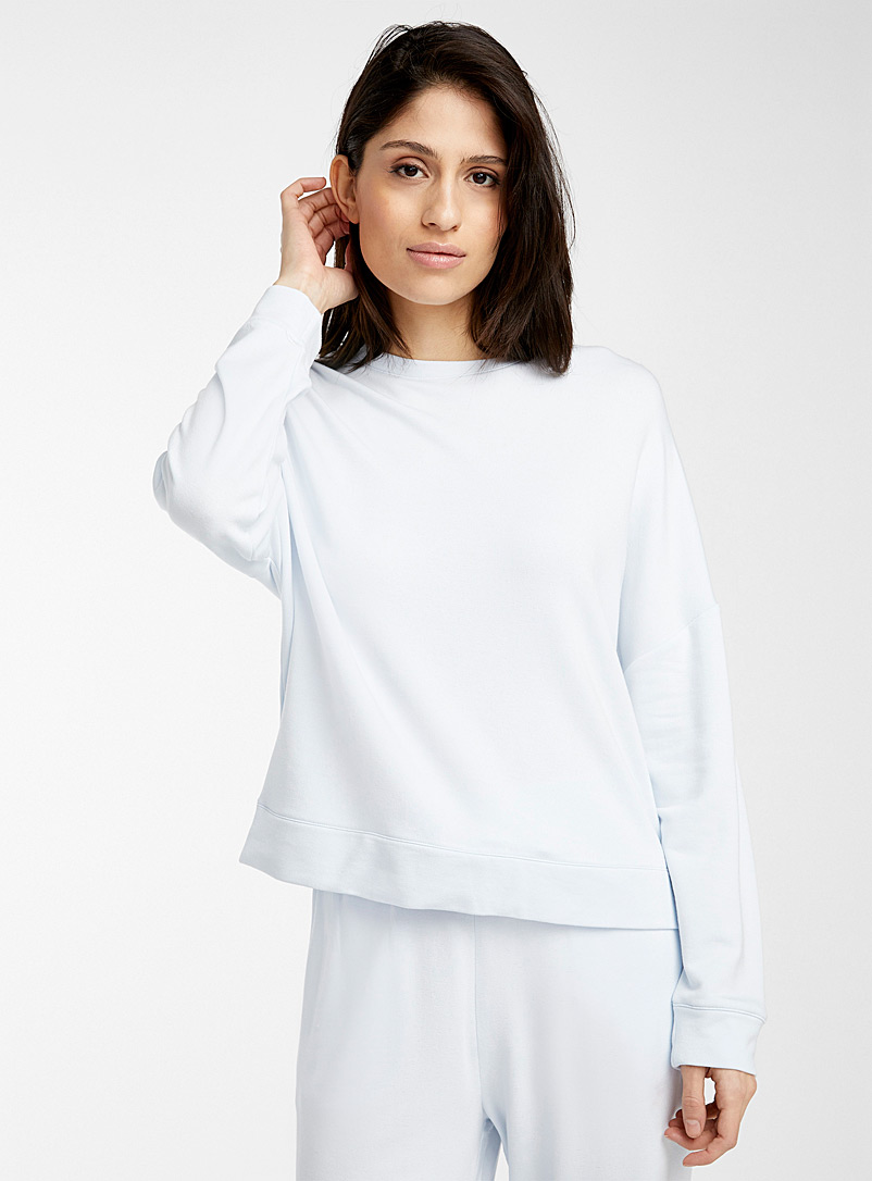 Miiyu Baby Blue Supremely soft modal sweater for women
