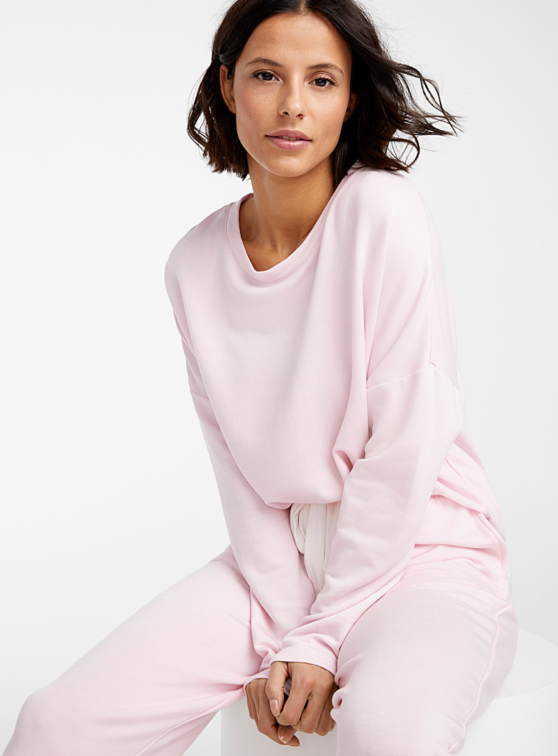 Miiyu Pink Supremely soft modal sweater for women