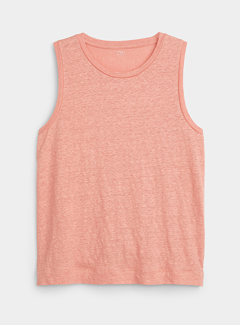 Miiyu Coral Heathered lounge cami for women