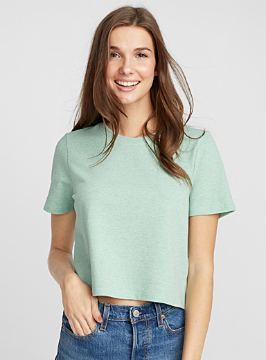 Honeycomb loose tee
