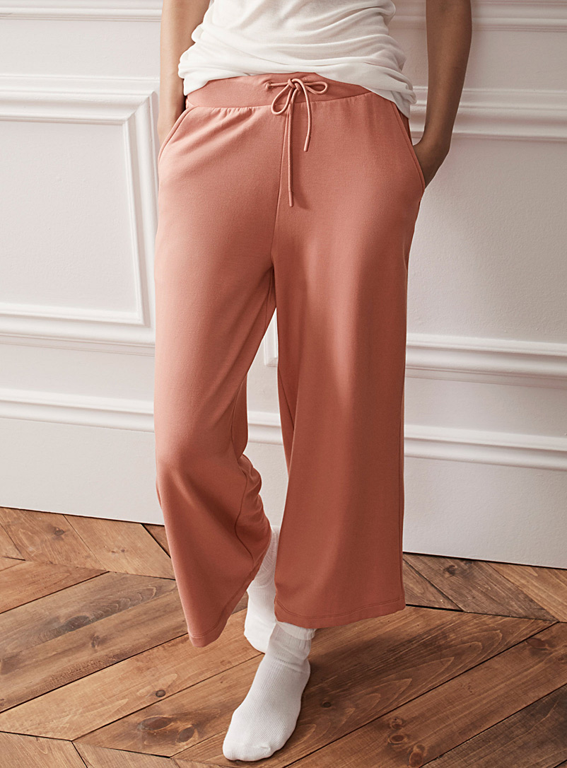 Miiyu Sand TENCEL* Modal ultra soft gaucho pant for women