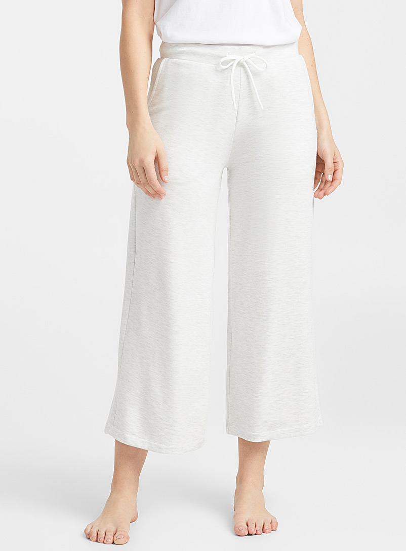 Ultra soft gaucho pant - Sleepwear & Leisurewear - Grey