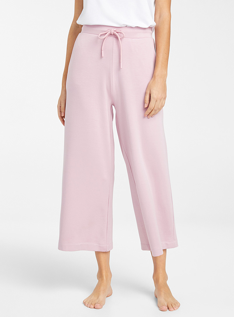 Miiyu Pink Supremely soft modal gaucho pant for women