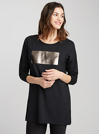 Accent tile tunic