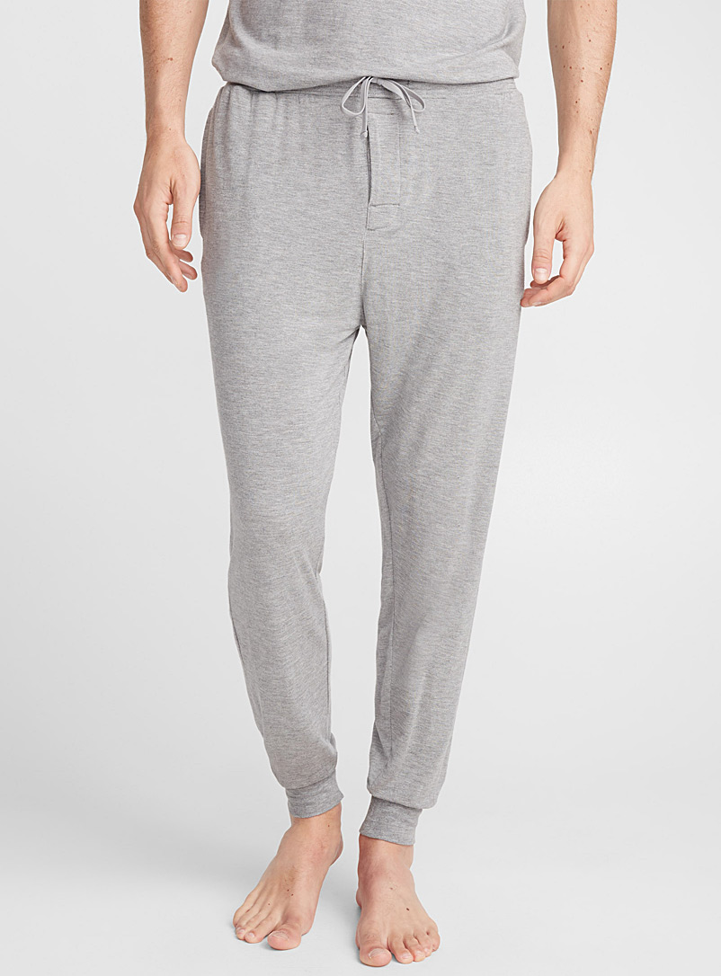 Modal lounge joggers - Sleepwear & Leisurewear - Charcoal