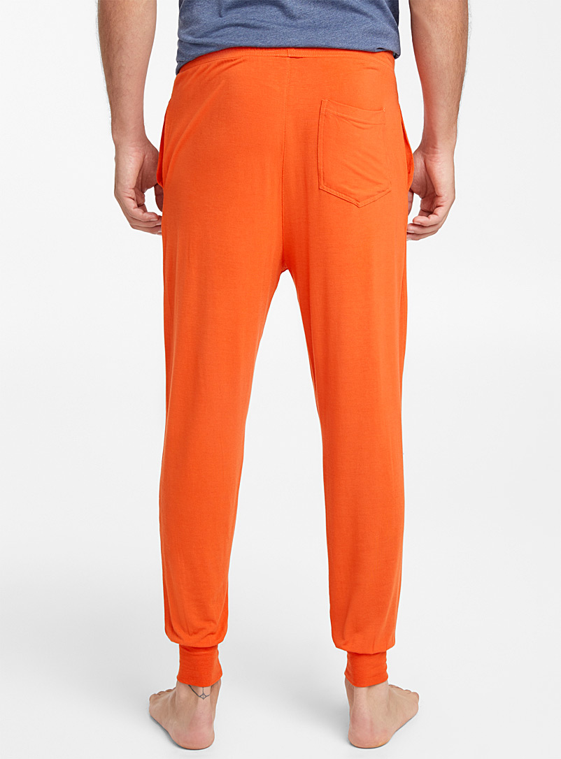 Modal lounge joggers - Sleepwear & Leisurewear - Orange