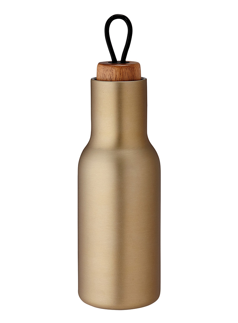 Ladelle Assorted Brushed gold metallic bottle